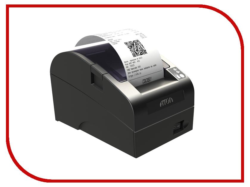 Фискальный регистратор Атол FPrint-22ПТК с фискальным накопителем Black