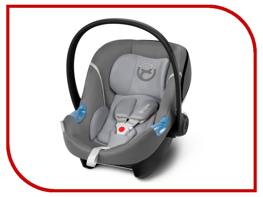 Автокресло Cybex Aton M + Base Manhattan Grey 4058511190631 cybex aton q hawaii