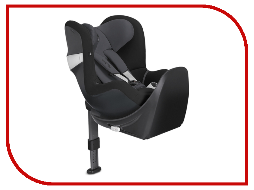 cybex вкладыш для новорожденного для автокресла cybex sirona Автокресло Cybex Sirona M2 i-Size Base M Graphite Black 4058511157405