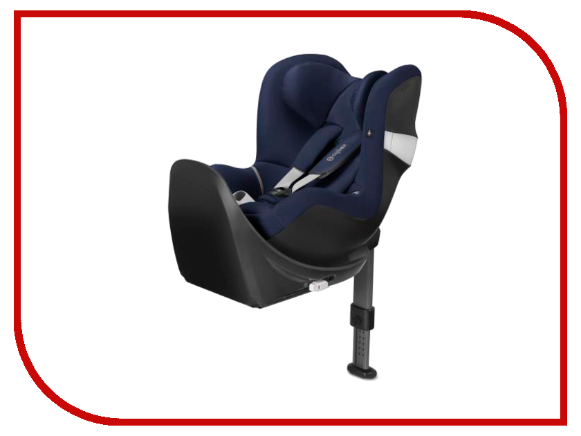 cybex вкладыш для новорожденного для автокресла cybex sirona Автокресло Cybex Sirona M2 i-Size Base M Midnight Blue 4058511157382