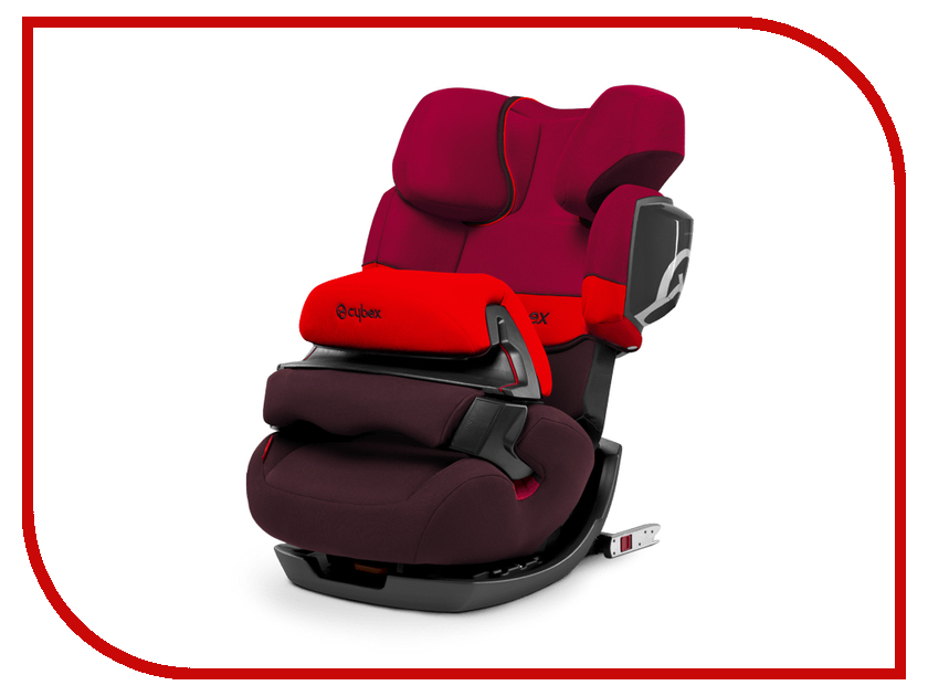 Автокресло Cybex Pallas 2-Fix Rumba Red 4250183747483