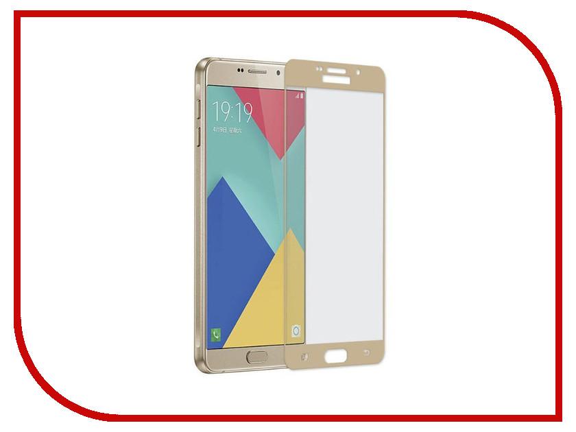 Аксессуар Защитное стекло Samsung Galaxy A510 A5 2016 Gecko 5D 0.26mm Gold ZS26-GSGA5-2016-5D-GOLD аксессуар защитное стекло samsung galaxy a5 2016 sm a510f solomon ultra glass