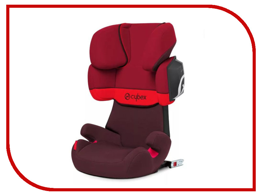 Фото Автокресло Cybex Solution X2-Fix Rumba Red 4058511028279