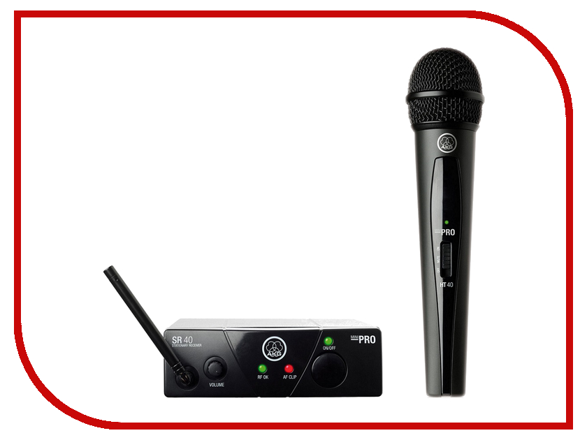 Радиомикрофон AKG WMS40 Mini Vocal Set Band US25B