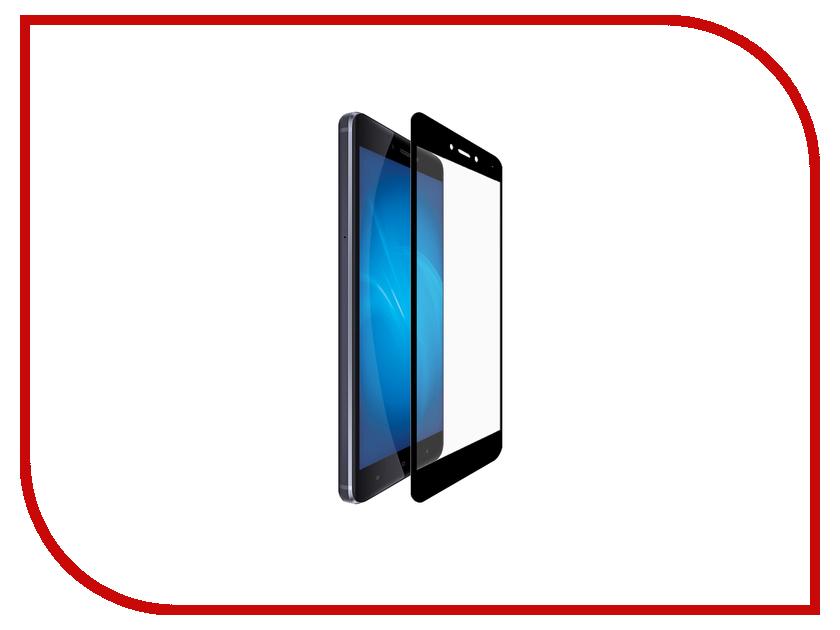 Аксессуар Защитное стекло Xiaomi Redmi 4 Pro Gecko 5D 0.26mm Black