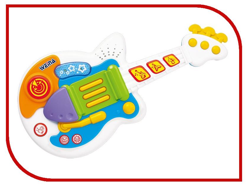 Детский музыкальный инструмент Weina 2099 Рок гитара 4893062020996 музыкальный инструмент детский simba музыкальная гитара свет звук 43 5 см