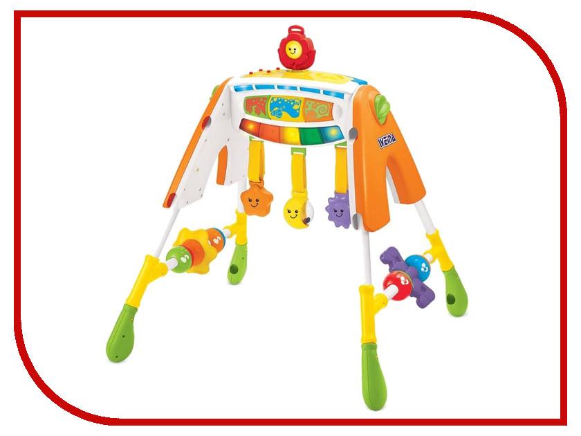 Игрушка Weina 2076 Многофункциональный развивающий центр для малыша 4 в 1 4893062020767 weina 2129