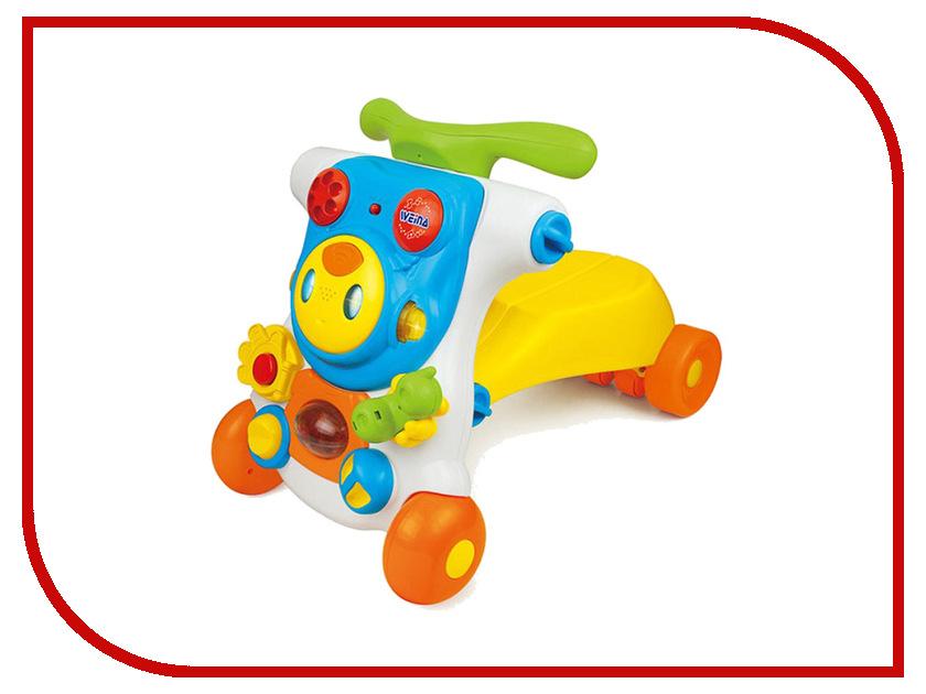 Игрушка Weina 2130 Ходунки каталка 2 в 1 Ride-on Robot 4893062021306 развивающая игрушка weina weina каталка сортер грузовичок