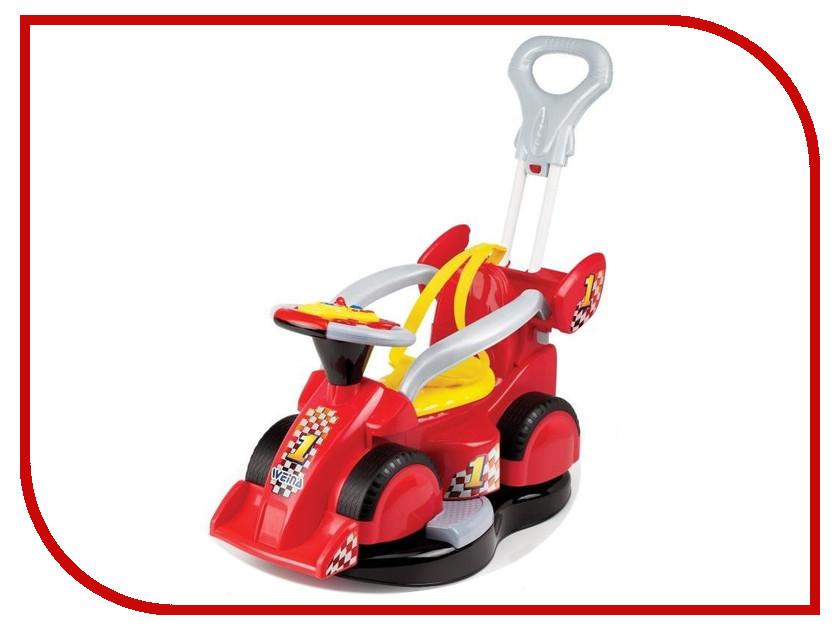 Игрушка Weina 2151 Каталка с родительской ручкой 5 в 1 4893062021511 развивающая игрушка weina weina каталка сортер грузовичок