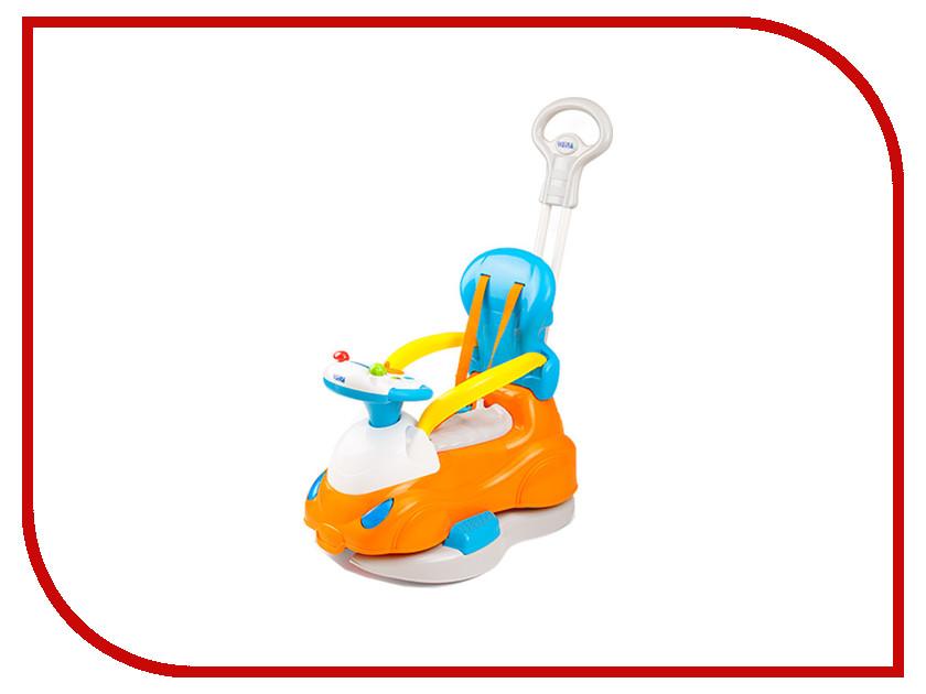 Игрушка Weina 2131 Машина каталка 4 в 1 с родительской ручкой 4893062021313 развивающая игрушка weina weina каталка сортер грузовичок