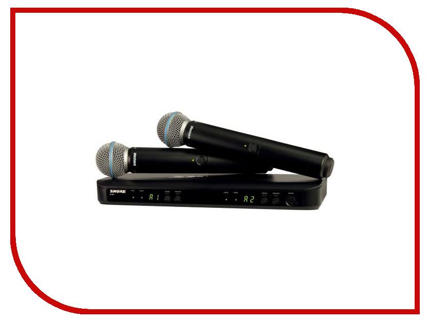 Радиосистема Shure BLX288E/B58 M17 casio blx 100 7e