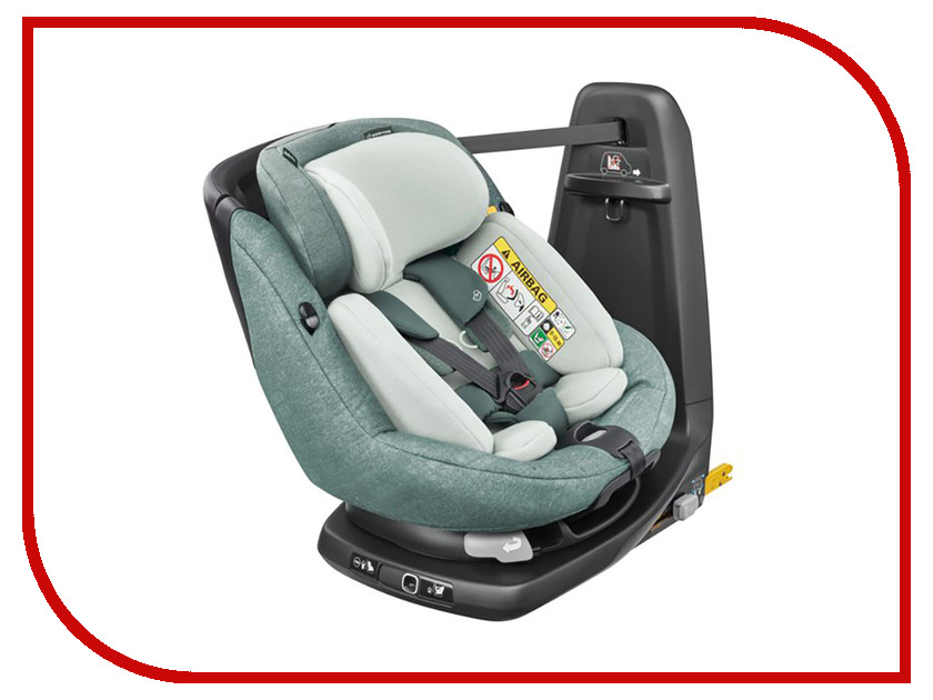 Автокресло Maxi-Cosi Axiss Fix Plus Nomad Green 8025242110 автокресло maxi cosi axiss fix 9 18 кг earth brown