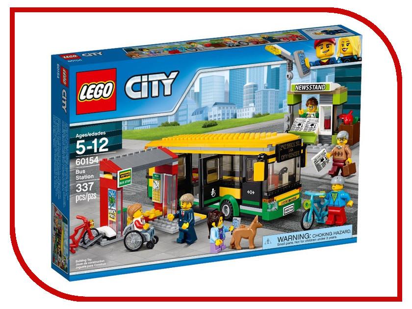 Конструктор Lego City Town Автобусная остановка 60154 lego city конструктор внедорожник каскадера 60146