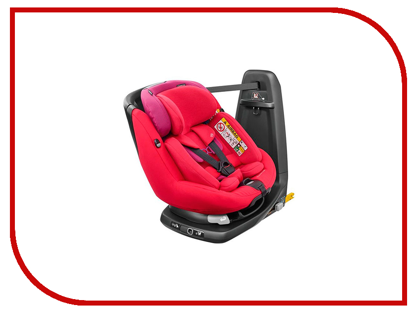 Автокресло Maxi-Cosi Axiss Fix Plus Orchid Red 8025333110 автокресло maxi cosi axiss fix 9 18 кг earth brown