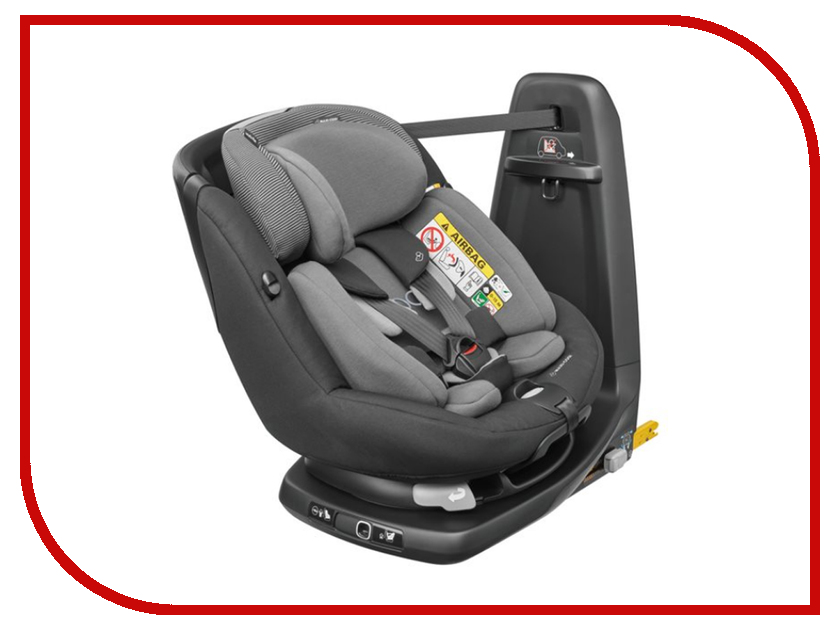 Автокресло Maxi-Cosi Axiss Fix Raven Black 80208957 maxi cosi автокресло axiss fix