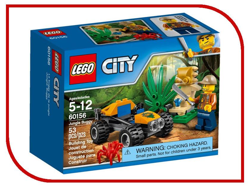 Конструктор Lego City Jungle Explorer Багги для поездок по джунглям 60156 lego city конструктор мобильный командный центр 60139