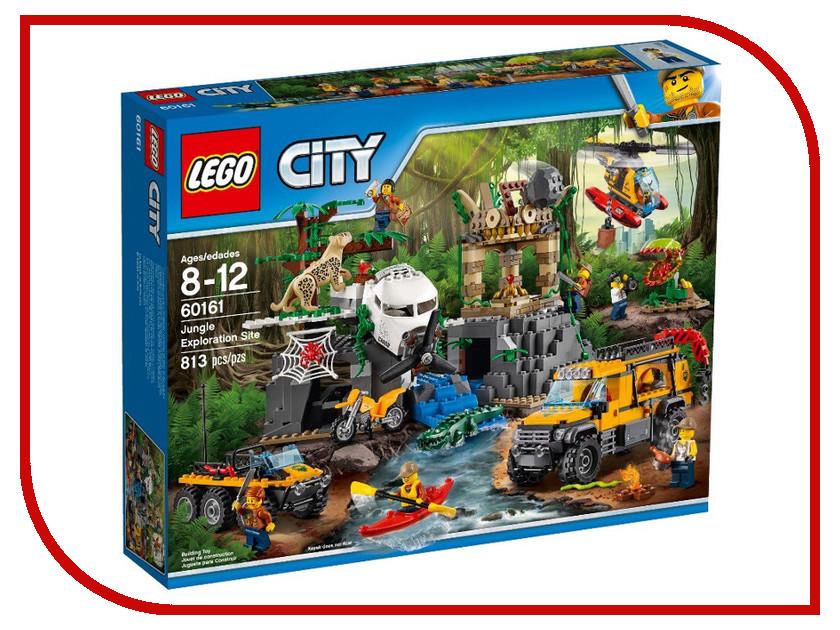Конструктор Lego City Jungle Explorer База исследователей джунглей 60161 lego lego city 60093 вертолет исследователей моря