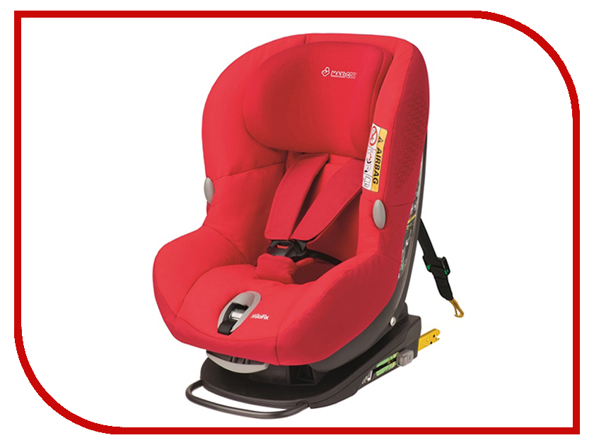 Автокресло Maxi-Cosi Milo Fix Origami Red 85369532