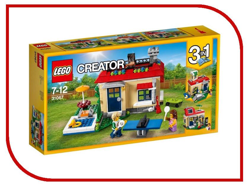 Конструктор Lego Creator Вечеринка у бассейна 31067 конструктор lego creator мотоцикл оранжевый 31059