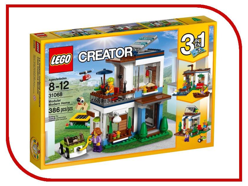 Конструктор Lego Creator Современный дом 31068 конструкторы lego lego lego creator домик в пригороде 31065