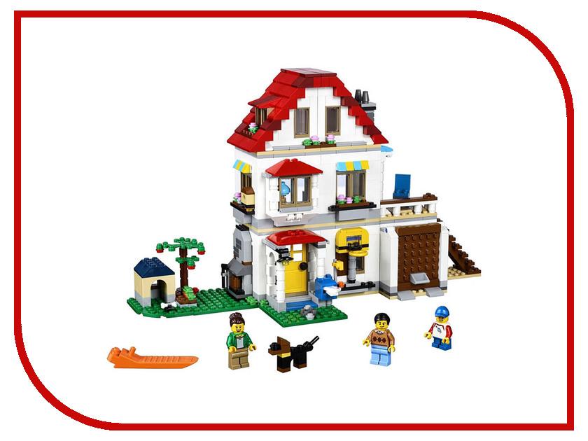 Конструктор Lego Creator Загородный дом 31069 конструктор lego creator мотоцикл оранжевый 31059