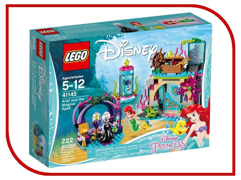 Конструктор Lego Disney Princess Ариэль и магическое заклятье 41145 конструктор lego disney princesses ариэль и магическое заклятье 222 элемента 41145