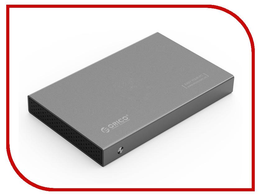 Аксессуар Корпус для HDD Orico 2518S3 Grey кастрюля амет классика прима с крышкой 8 л