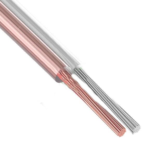 Акустический кабель Rexant 2x1.50mm2 5m Transparent 01-6306-05