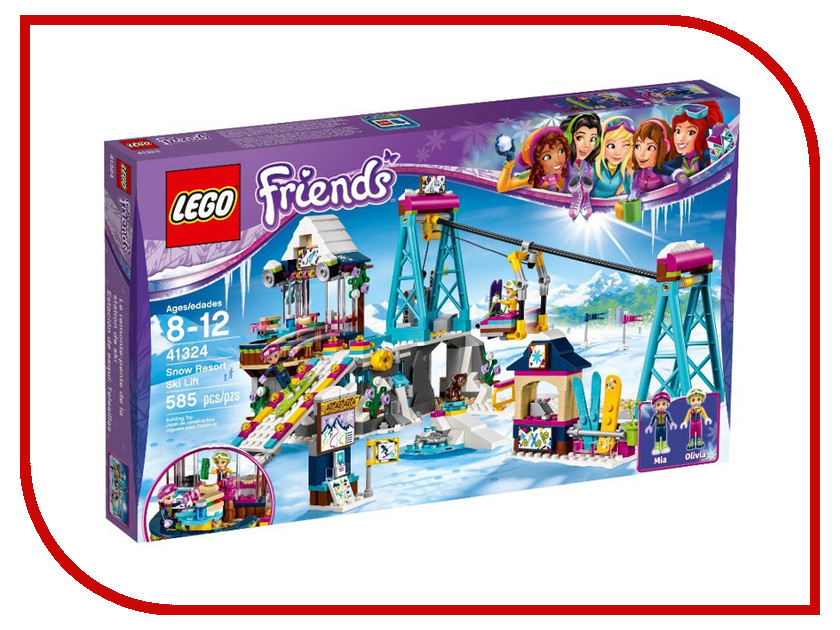 Конструктор Lego Friends Подъемник 41324