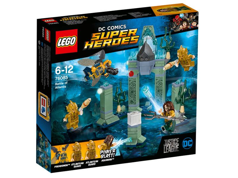 Конструктор Lego Super Heroes Битва за Атлантиду 76085 конструктор lego super heroes тор против локи 79 элементов 76091