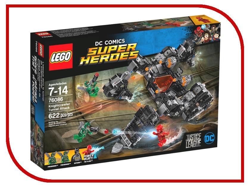 Конструктор Lego Super Heroes Сражение в туннеле 76086 конструктор lego super heroes spiderman в ловушке доктора осьминога 76059