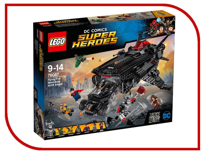 Конструктор Lego Super Heroes Нападение с воздуха 76087 конструктор lego super heroes росомаха против магнето 76073