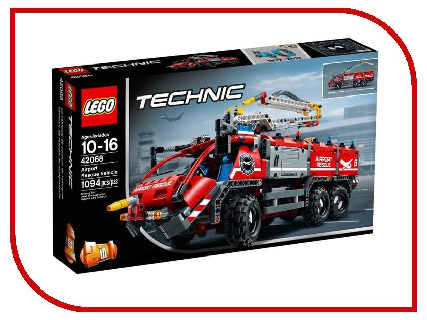 Конструктор Lego Technic Автомобиль службы спасения 42068