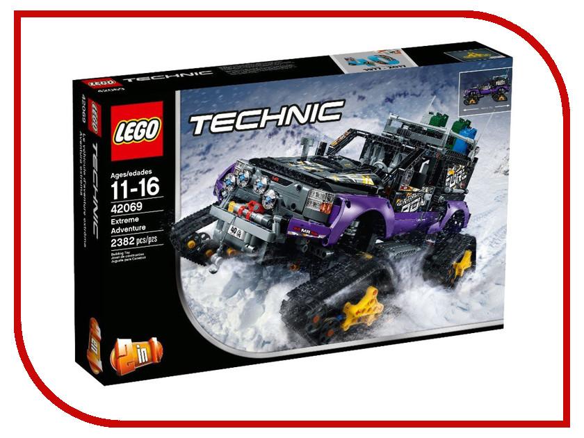 Конструктор Lego Technic Экстремальные приключения 42069 toys for children china brand 355 self locking bricks compatible with lego technic rescue helicopter 8068 no original box