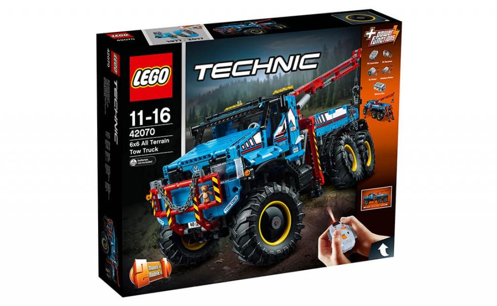 Конструктор Lego Technic Аварийный внедорожник 42070