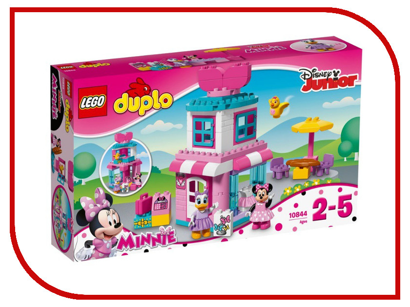 Конструктор Lego Duplo Disney Магазинчик Маус 10844 lego lego duplo 10831 моя веселая гусеница
