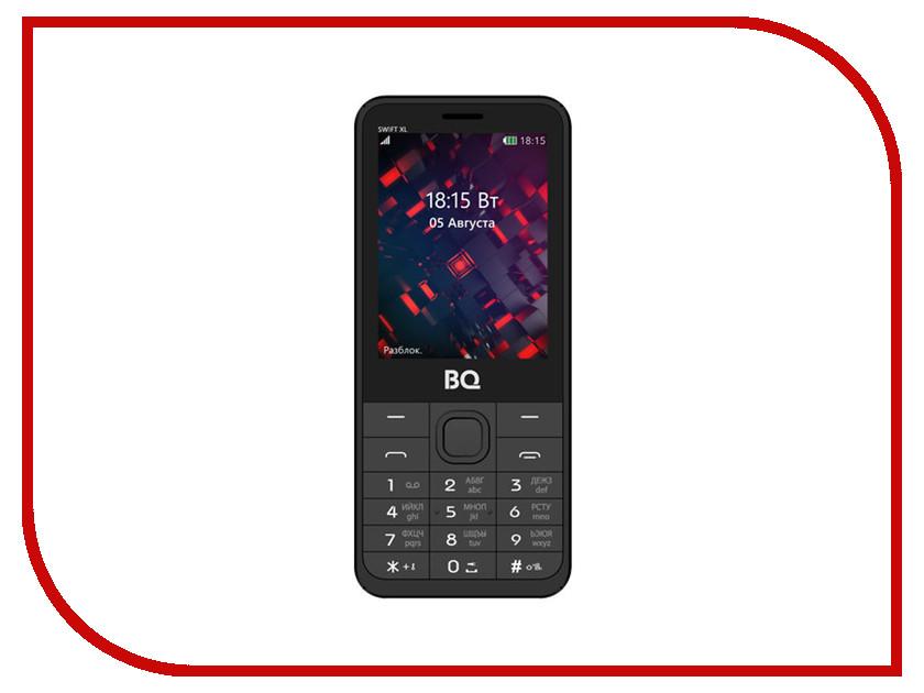 Сотовый телефон BQ 2811 Swift XL Silver мобильный телефон bq m 2411 swift l brown