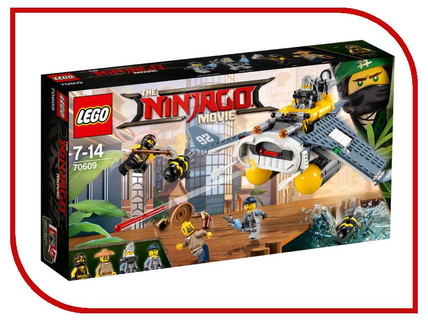 Конструктор Lego Ninjago Бомбардировщик 70609 конструктор lego ninjago 70633 кай мастер кружитцу
