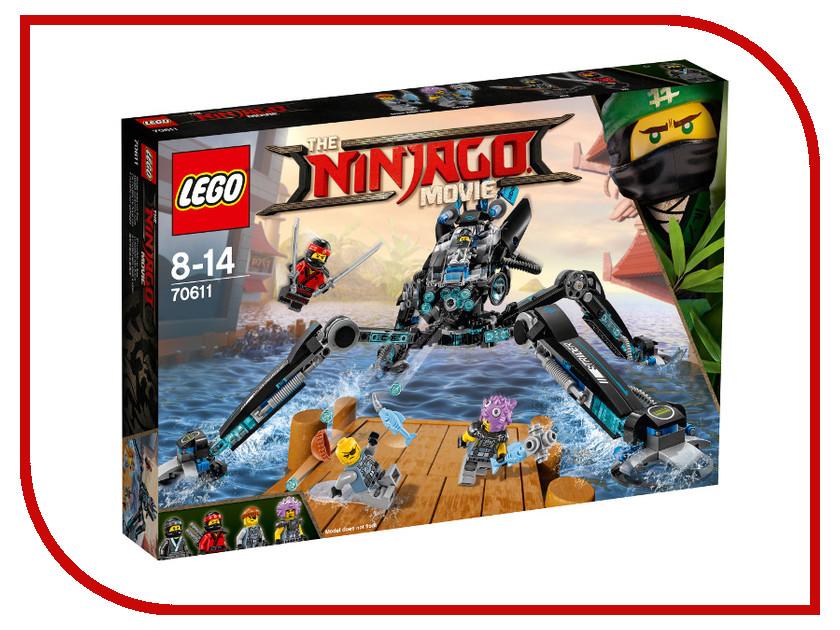 Конструктор Lego Ninjago Водяной робот 70611 конструктор lego ninjago 70633 кай мастер кружитцу
