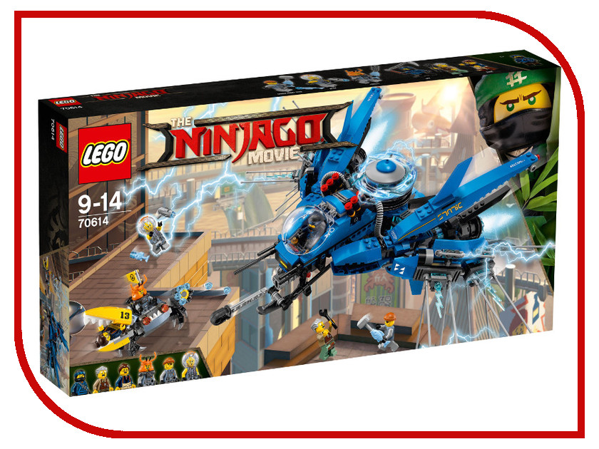 цена на Конструктор Lego Ninjago Самолет молния Джея 70614