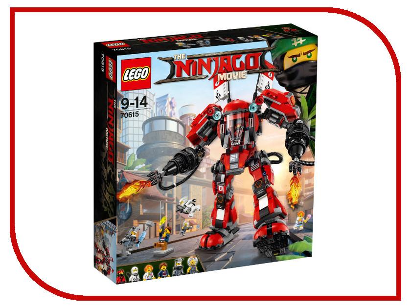 Конструктор Lego Ninjago Огненный робот Кая 70615 lego ninjago конструктор побег из тюрьмы криптариум 70591