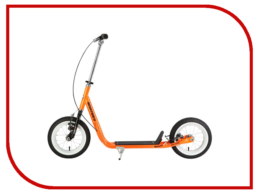 Самокат Novatrack Stamp N4 12 Neon Orange nga 486 n4