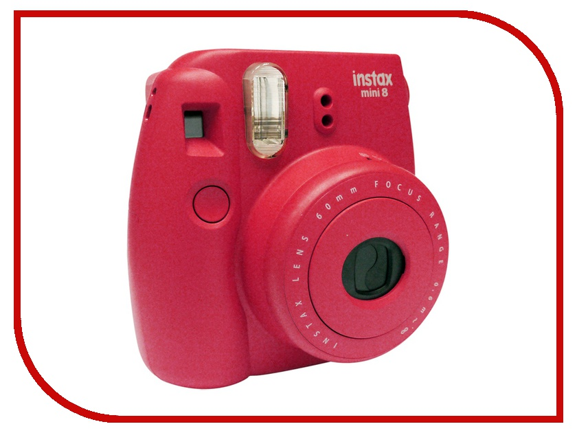 Фотоаппарат FujiFilm 8 Instax Mini Red fujifilm instax mini 8