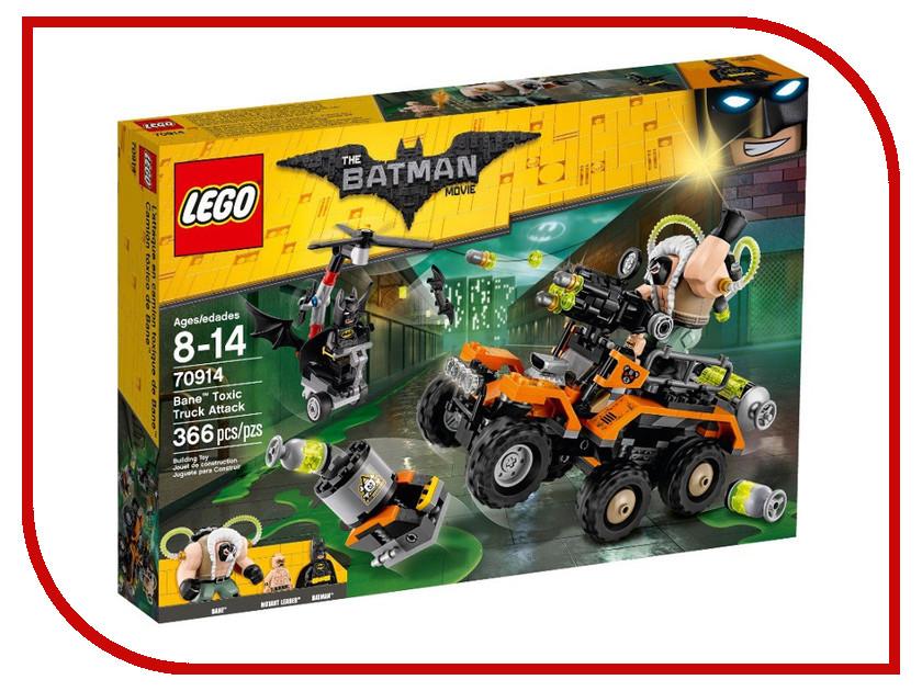 Конструктор Lego Batman Movie Химическая атака Бэйна 70914 lego 70900 batman movie побег джокера на воздушном шаре
