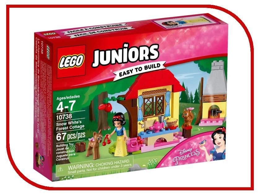 Конструктор Lego Juniors Лесной домик Белоснежки 10738 лего лесной заповедник