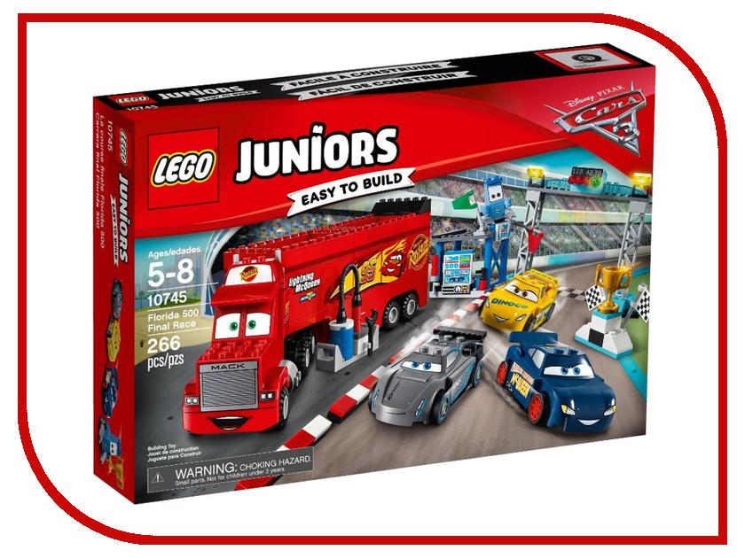 Конструктор Lego Juniors Финальная гонка Флорида 500 10745