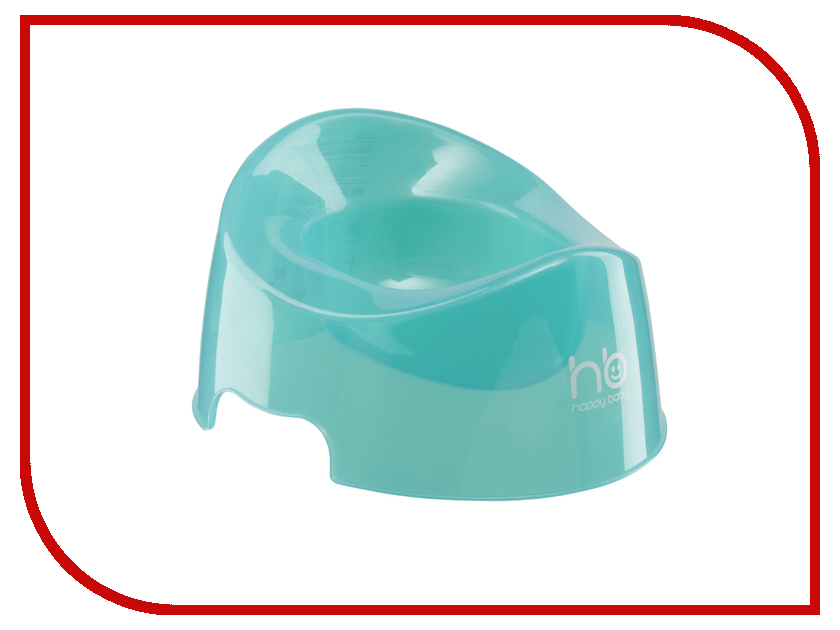 Горшок Happy Baby 34001 Potty Light-Blue детское автокресло happy baby skyler blue