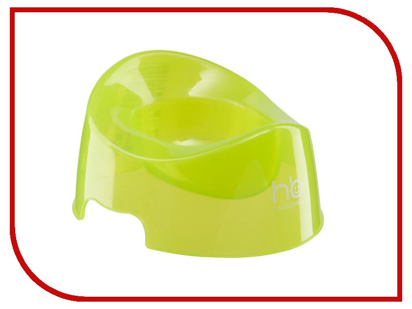 Горшок Happy Baby Potty Lime 34001 горшки happy baby mini potty дорожный с набором одноразовых пакетов