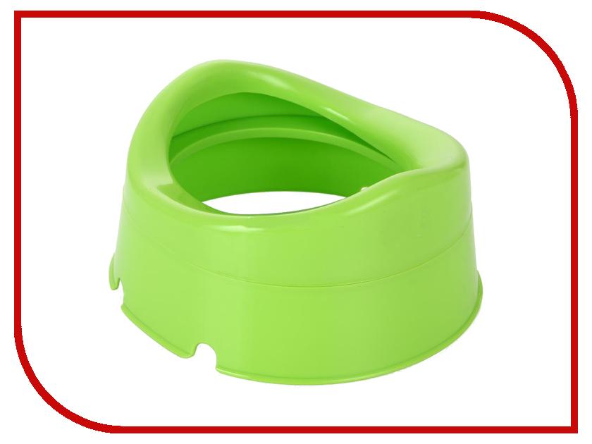 Горшок с набором одноразовых пакетов Happy Baby Mini Potty Green 34004