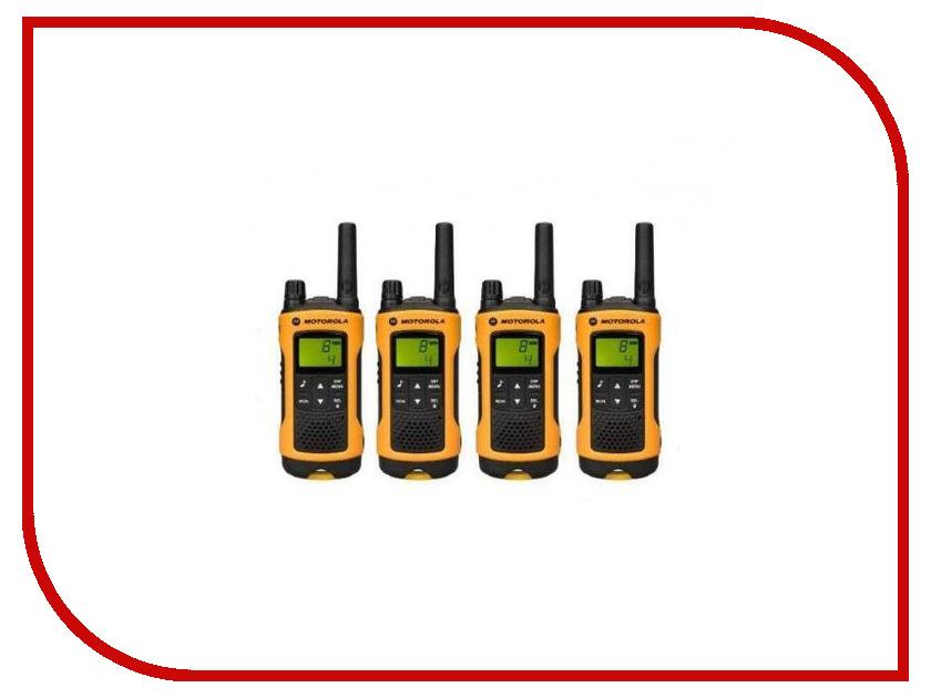 Рация Motorola TLKR T80EX QUAD PACK рация motorola tlkr t50